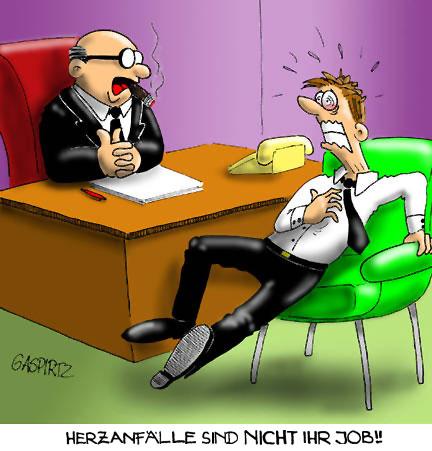 Herzanfälle sind nicht Ihr Job!!