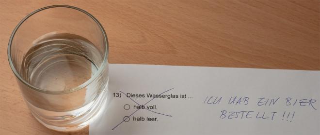 Bier bestellt