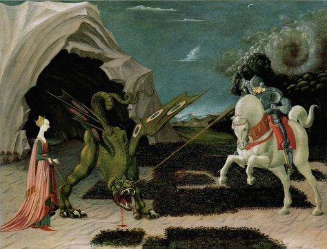 Sankt Georg und der Drache