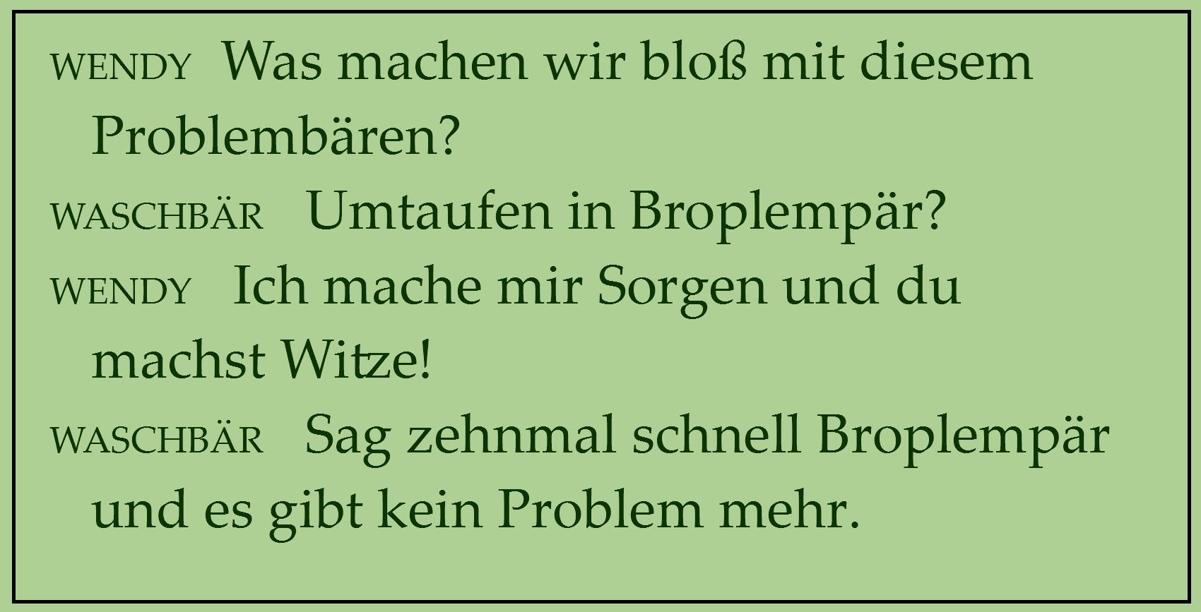 Problembär